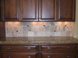 kitchen backsplash traditional kitchen design with brown kitchen cabinets and peel and stick tile backsplash plus cabinet lighting backsplash
