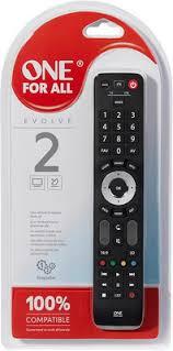 <b>Универсальный пульт OneForAll URC</b> 7125 Evolve 2 купить в ...