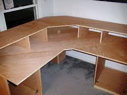 diy homemade l shaped desk plans blueprints office desk preview save