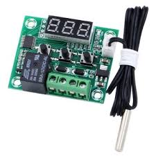 W1209 1 Channel 12v <b>Temperature</b> Controlled <b>Relay Module</b>