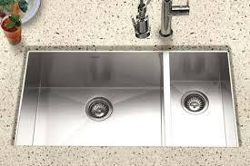 undermount kitchen sink stainless steel: houzer stainless steel zero amp small radius kitchen sinks intended for undermount kitchen sinks