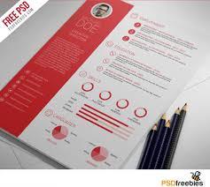 creative professional resume template free psd   psdfreebies com    clean and professional resume free psd template