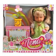 <b>Кукла Dimian</b> Baby <b>Nena</b> Нена с цветком, 38 см, BD386 - купить ...