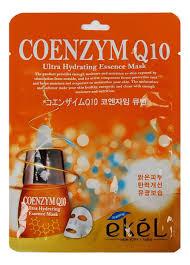 <b>Тканевая маска для лица</b> с коэнзимом Coenzym Q10 Ultra ...