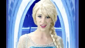 Disney <b>Frozen</b> Elsa <b>Let it Go</b> - In Real Life - YouTube