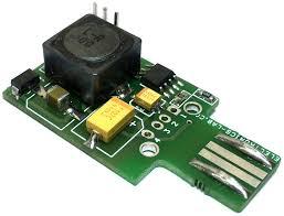 <b>USB to</b> +/-<b>5V</b> Voltage DC-DC switching Converter - Electronics-Lab ...