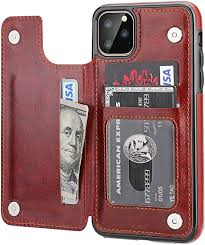iPhone 11 Pro Max Wallet Case with Card Holder,OT ... - Amazon.com