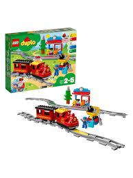 Конструктор <b>LEGO DUPLO</b> 10874 <b>Поезд на</b> паровой тяге LEGO ...