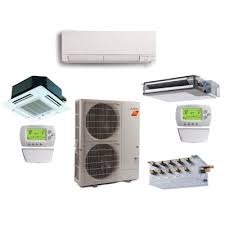 Mitsubishi Ductless Heat Pump Mitsubishi Multi Room Ductless Air Conditioning Heat Pumps
