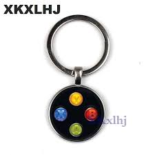 <b>XKXLHJ</b> Brand Game controller <b>key chain</b> geeky boyfriend perfect ...