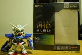<b>Silicon Power Stream S03</b> External Drive Review - The Reimaru Files