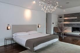 scandanavian modern large contemporary master bedroom idea in houston with gray walls dark hardwood floors a amazing scandinavian bedroom light home