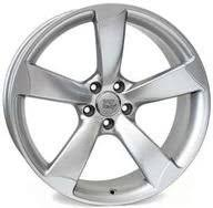 Alumiinivanne <b>WSP Italy Giasone</b> W567 Hyper Silver | <b>9x19</b> | <b>5x112</b> ...