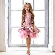 <b>Gorgeous Pink Toddler Flower</b> Girl Dresses Knee Length Pageant ...