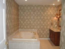 ceramic tile setting wall bathroom