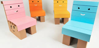 funnypaper turns the box into the toy with their light but strong child friendly cardboard designs the cardboard furniture child friendly furniture
