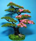 Деревья цветут из бисера мастер класс с пошаговым фото