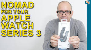 Nomad <b>Silicone Sport Strap</b> Review for Apple Watch - YouTube