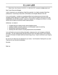 best data entry cover letter examples livecareer edit