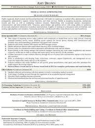 medical office administrator manager resume sample free plus    medical office administrator manager resume sample free plus qualification office manager resume