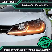 <b>Car Styling Head Lamp</b> for VW Golf7 Headlights Golf 7 MK7 MK7.5 ...