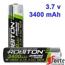 <b>аккумулятор 18650 ROBITON</b> 18650 3400мАч с защитой