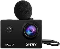 <b>Экшн</b>-<b>камера X</b>-<b>Try XTC197</b> (черный)