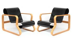 pair of paimio lounge chairs by alvar aalto red modern furniture alvar aalto furniture