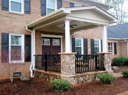 yard patio ideas entry front  small and elegant front porch x