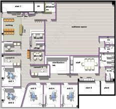 Dental Practice Floor Plan 960 X 902