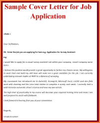application letter for employment example bussines proposal  10 application letter for employment example