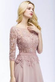 Online Shop <b>Robe de Soiree Longue</b> Sexy Backless Pink Lace Half ...
