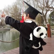 <b>Panda Baby Backpack Children</b> Small Book Baby Plush Doll ...