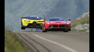 Bugatti Vision GT vs <b>Super Cars</b> at Highlands - YouTube