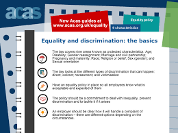 acas advice equality acas equality and discrimination top tips