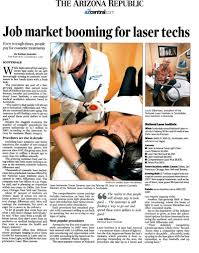 job market booming for laser techs national laser institute article