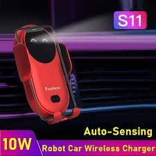 Tongdaytech <b>15W Car</b> Phone Wireless Charger Universal Automatic ...