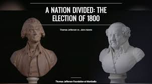 「President Thomas Jefferson, who vigorously opposed the legislation and defeated Adams in the 1800 election.」の画像検索結果