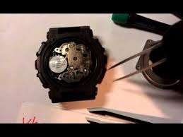 Замена батарейки на <b>Casio G-Shock GA</b>-100, battery replacement ...