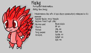 Poketreemon dex info: Flaky by chibitracy on DeviantArt via Relatably.com