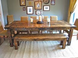 How To Make A Dining Room Table Farmhouse Dining Room Table Is Also A Kind Of How To Make A Diy