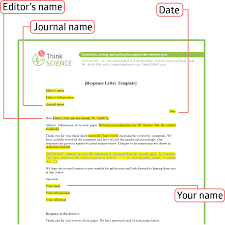 writing effective response letters to reviewers tips and a template