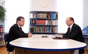 Рабочая встреча с губернатором Свердловской области ...