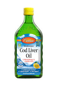 <b>Carlson Wild Norwegian</b> Liquid <b>Cod Liver</b> Oil, 1100 mg Omega-3s ...