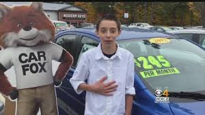 year old gets jump start on car s career cbs boston 14 year old gets jump start on car s