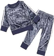 Ritatte 2 Pcs Fashion Toddler Kids Baby Girls Velvet ... - Amazon.com