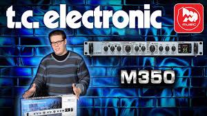 <b>TC</b> ELECTRONIC M350 - подробный обзор <b>процессора эффектов</b>
