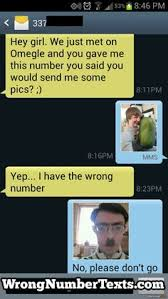 Funny wrong number on Pinterest | Wrong Number Texts, Funny Texts ... via Relatably.com