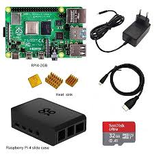 Raspberry Pi 4 Kit Raspberry Pi 4 Model B PI 4B 2GB 4GB Board+ ...