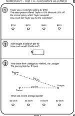 Free Math Worksheets        Year   Worksheets Maths Printables